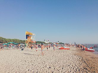 Tirana County - Golem Beach