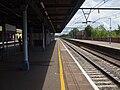Goodmayes station fast look east.JPG