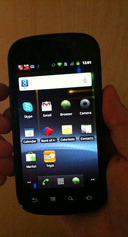 Google Nexus S smartphone