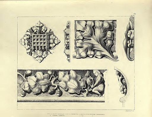 Gothic Ornaments, selected fom various ancient buildings, both in England and Franc, during the years 1828, 1829, and 1839 - Agustus Pugin 45