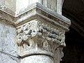 Gournay-en-Bray (76), collégiale St-Hildevert, chœur, 2e grande arcade du nord, chapiteau côté ouest.jpg
