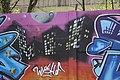 Graffiti 24 on legal wall of PBS in Třebíč, Třebíč District.jpg