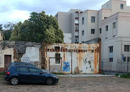 "Graffiti in Cape Town: ""All shall be equal before the law."""