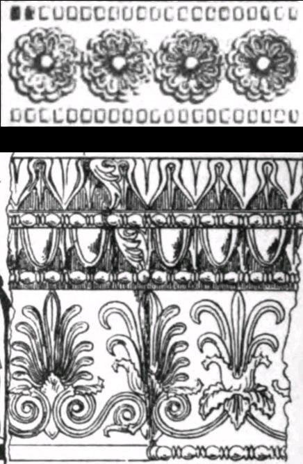 Greek frieze designs