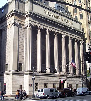 Greenwich Savings Bank - Sixth Avenue facade