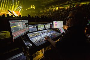 Venue (sound system) - Greg Price mixing Black Sabbath on S6L