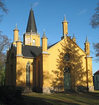 Großbeeren - Church (by Schinkel)