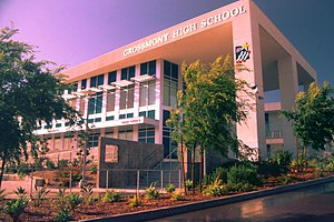 Grossmont High School - Student Support Services Building, dedicated December 2016