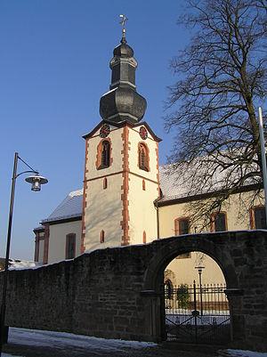 Großwallstadt - Image: Grosswallstadt Kirche