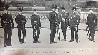 London Rifle Brigade - Group, London Rifle Brigade, 1896