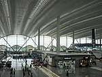 Guangzhou Baiyun International Airport Terminal 2 Departure Lobby 201807 03.jpg