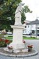 GuentherZ 2012-08-11 3780 Frauenkirchen Statue Johannes Nepomuk.jpg