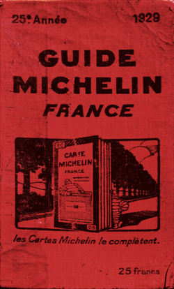 image illustrative de l'article Guide Michelin