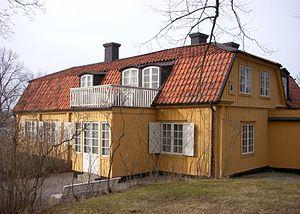 """""""Gamla huset"""" i marts 2012."""