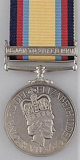 Gulf Medal British campaign medal