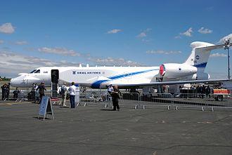 IAI EL/W-2085 - Israel Air Force EL/W-2085 on display at Farnborough 2008