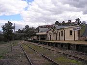 Gundagai railway station 2006