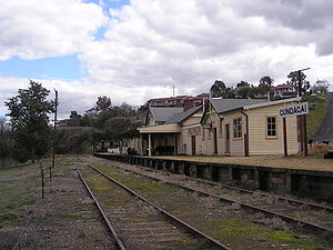 Tumut and Kunama railway lines