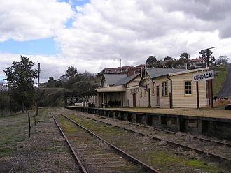 Gundagai - Gundagai railway station