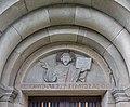 Gurk Domplatz 1 Dom Suedportal Tympanon Relief des Retters 11102016 4939.jpg