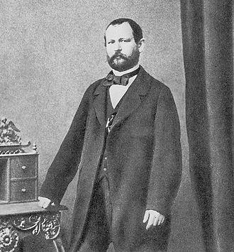 Gustav Fabergé - Gustav Fabergé, 1860s