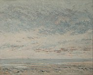 Gustave Courbet - Low Tide at Trouville - Google Art Project.jpg