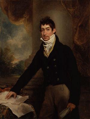 Gwyllym Lloyd Wardle - Gwyllym Lloyd Wardle, 1809 portrait