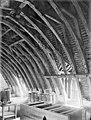 Hôtel de Jean du Moulin de Rochefort (ancien) - Vue intérieure des combles - Charpente - Poitiers - Médiathèque de l'architecture et du patrimoine - APMH00022117.jpg