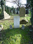 H.S. Dawson RAF grave St Pancras and Islington Cemetery.JPG