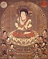 HACHIJI-MONJU (ASTA-SIKHA MANJUSRI ) AND EIGHT ATTENDANTS - Google Art Project.jpg