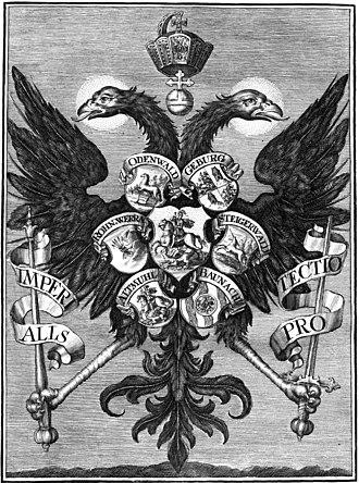 Imperial Knight - The Franconian Circle from Des heiligen Römischen Reichs ohnmittelbahr = Freyer Ritterschafft Der Sechs Ort in Francken, 1720