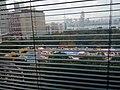 HKCL 銅鑼灣 Causeway Bay 中央圖書館 public library windows view 維多利亞公園 Victoria Park 工展會 HKBPE December 2016 Lnv4 百頁簾.jpg