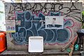 HK 上環 Sheung Wan 水坑口街 Possession Street footbridge 華里 Wa Lane wall picture 塗鴉 Graffiti June 2018 IX2 17.jpg