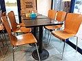 HK 西灣河 Sai Wan Ho 大鍵薄餅 Golden Pizza Boss Restaurant table and chairs furniture July 2019 SSG 01.jpg