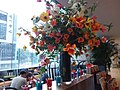 HK Admiralty 金鐘道 Queensway 太古廣場 Pacific Place flowers August 2019 SSG 01.jpg