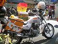 HK Tsuen Wan Sunday Hau Tei Square Now Motorbike Honda CB.JPG