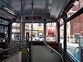 HK tram 64 view 上環 Sheung Wan 德輔道中 Des Voeux Road West Sept 2018 SSG upper decker interior.jpg