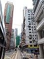 HK tram tour view 灣仔 Wan Chai 莊士敦道 Johnston Road July 2019 IX2 02.jpg