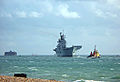 HMS Illustrious preparing to enter Portsmouth 2 BB.jpg