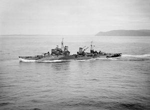 HMS Sheffield (C24) underway in Scapa Flow 1941.jpg