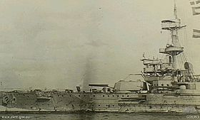 HMS Swiftsure  vor Gallipoli, 1915