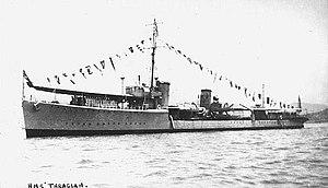 HMS Thracian- IJN Patrol Boat No. 101.jpg