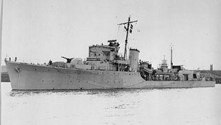 HMS <i>Zetland</i> (L59) British Royal Navy ship