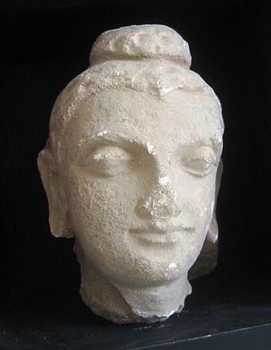 Hadda, Afghanistan - Image: Hadda Buddha Head