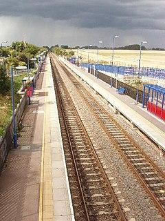 Haddenham & Thame Parkway railway station Railway station in Buckinghamshire, England