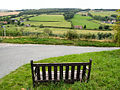 Hairpin Corner, Road To Stitchcombe - geograph.org.uk - 37522.jpg