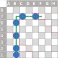 Halma open corner orthogonal ladder.png