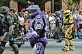 Halo cosplay 2 at Atlanta Dragon Con Parade 2010.jpg