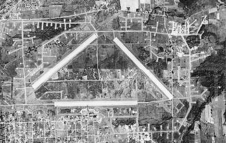 Hancock Field Air National Guard Base - 1951 airphoto of Hancock Field