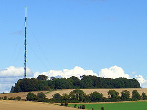 Southern Television broadcast interruption - The Hannington transmitter, from where the broadcast signal was hijacked